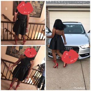 Black Baby doll dress